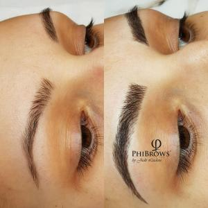 Defined brows