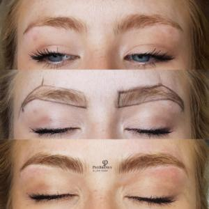 Blond brows